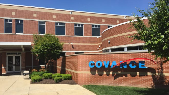 Covance medical research facility in Evansville