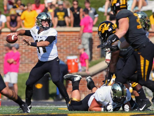 NCAA Football: Purdue at Missouri