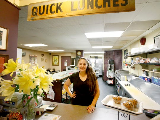 Angelina Guglielmo purchased the Main Street Cafe nearly