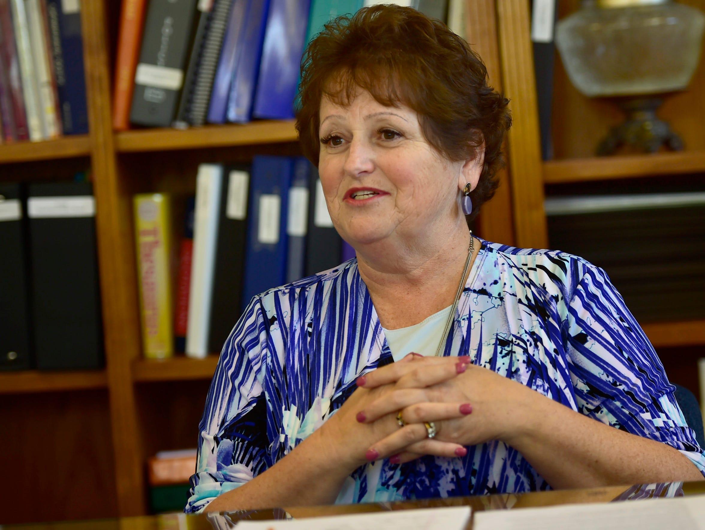 Dr. Sherian Diller, superindent of Waynesboro Area