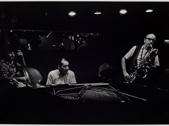 """Russ Marshall's """"Pepper Adams and Claude Black at Baker's"""