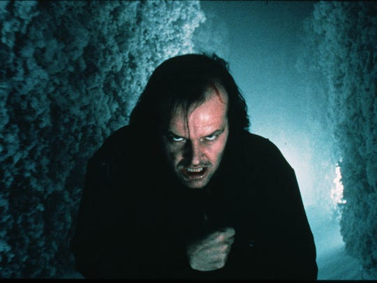 "Jack Nicholson in ""The Shining,"" which will be screening at theaters nationwide Sunday afternoon and evening."