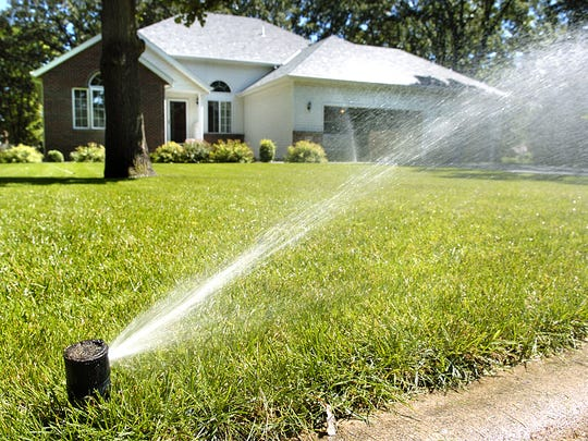 Lawns and gardens might need water during the weekend heat wave.