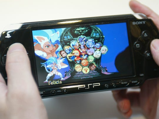 A cartoon game is displayed on Sony Computer Entertainment's