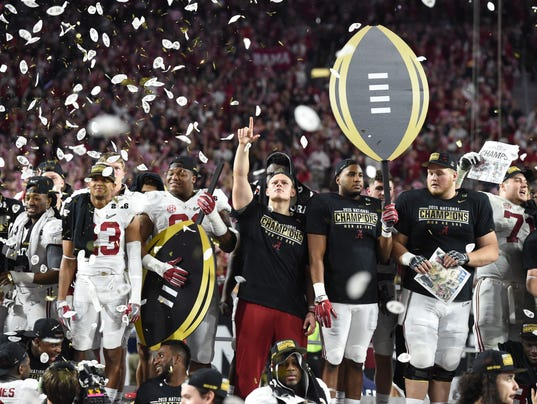 2016 cfp national championship college football sports