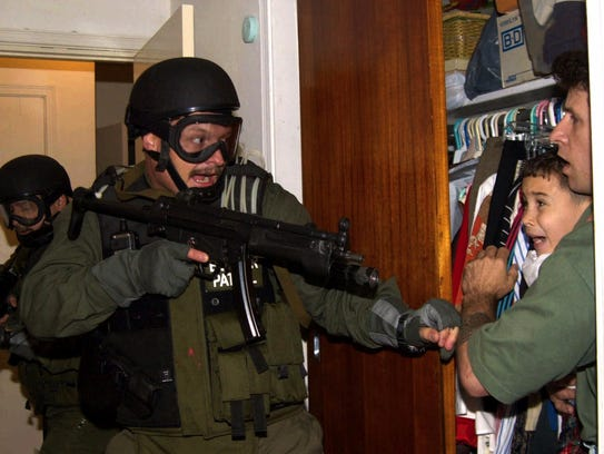 Government agents storm 6-year-old Elian Gonzalez's
