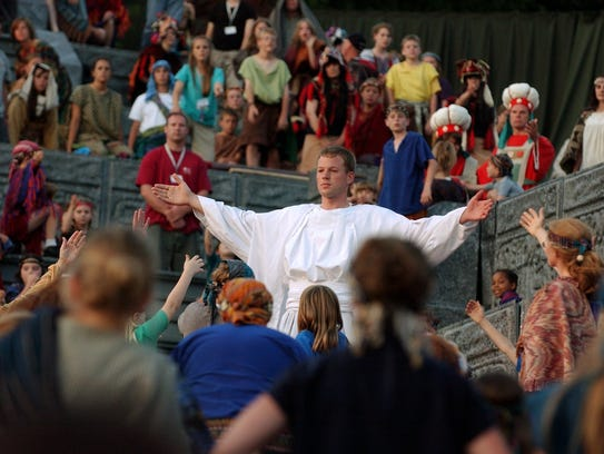 The Hill Cumorah Pageant in Manchester takes place