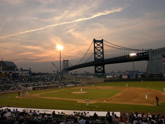 The Camden Riversharks played at Campbell's Field from 2001 to 2015.