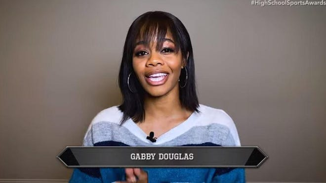 Olympic Gold Medalist Gabby Douglas was among the star athletes presenting award winners during Thursday's Best of Stark Show.