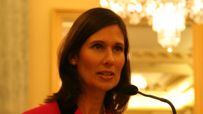Deborah Hersman, chairman of the National Transportation Safety Board, tells a Senate committee Friday about crash investigations on hold during the government shutdown.