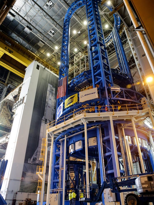 Michoud builds the space launch system