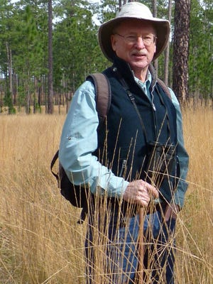 Wilson Baker in Red Hills pine forest