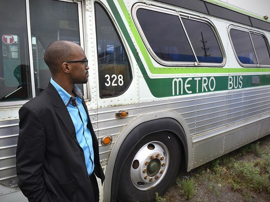 St. Cloud Metro Bus Executive Director Ryan Daniels