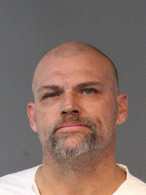 Celestin Tappin, 45, was booked for attempted murder and other charges.