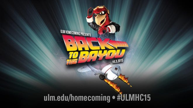 """ULM's homecoming theme is """"Back to the Bayou."""""""