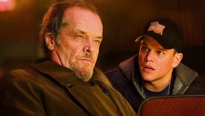 """The Departed"" (2006) starred Leonardo DiCaprio, Matt Damon, Jack Nicholson."