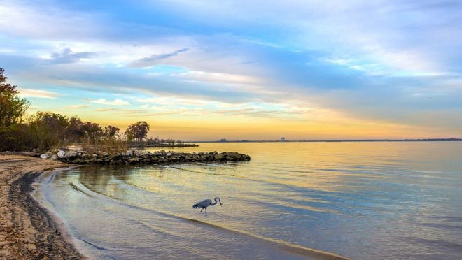 A stock photo showing the Chesapeake Bay in Anne Arundel County, Md.