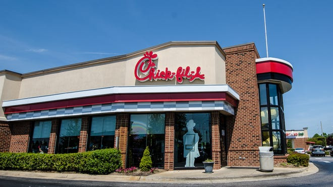 Chick-fil-A topped the list of chain restaurants that readers want to come to Fremont.