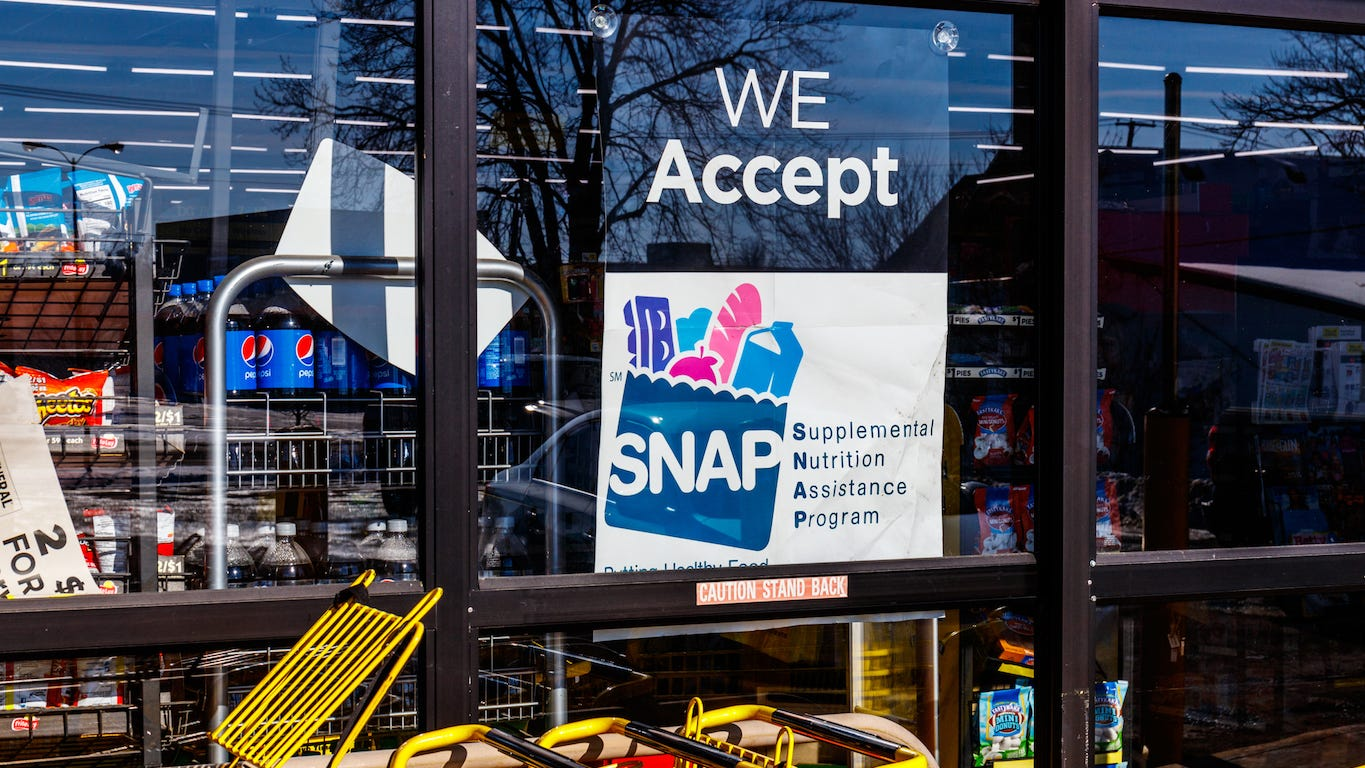 SNAP benefits: Cities with the most people on food stamps
