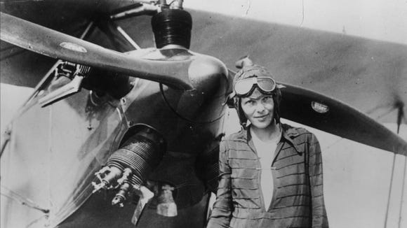 Amelia Earhart is one of the most famous people named Amelia.
