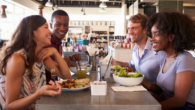 Going out to eat is more popular than ever. Americans in the 1950s spent three times as much on groceries as on food away from home.