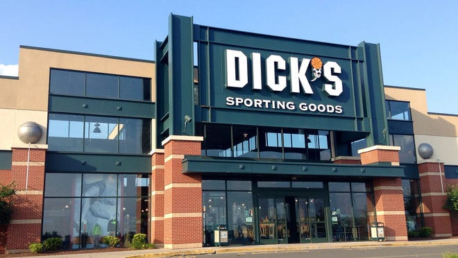 Dick's saw sales drop in the third quarter following its ban on selling assault-style weapons and guns to those under 21.