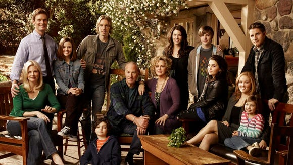 "The Braverman family on ""Parenthood."""