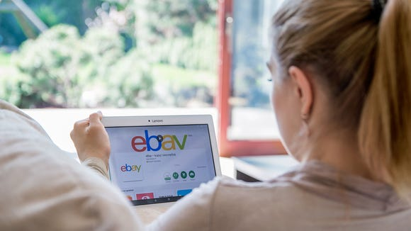 eBay's website.