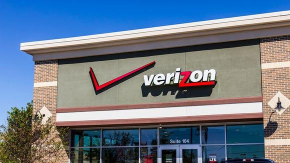 A Verizon store.