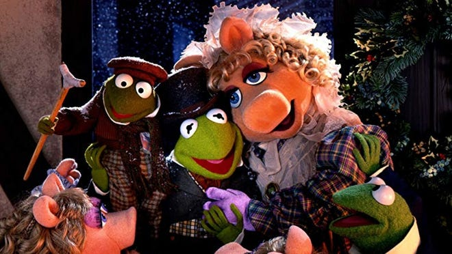 """Watch""""The Muppet Christmas Carol""""and enjoy free hot chocolate, 7 p.m. Friday, Dec. 28,Dolce Mama's."""