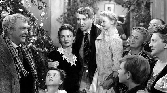 The classic Frank Capra holiday movie stars James Stewart as a man who gets a look at what life would be like if he had never existed.