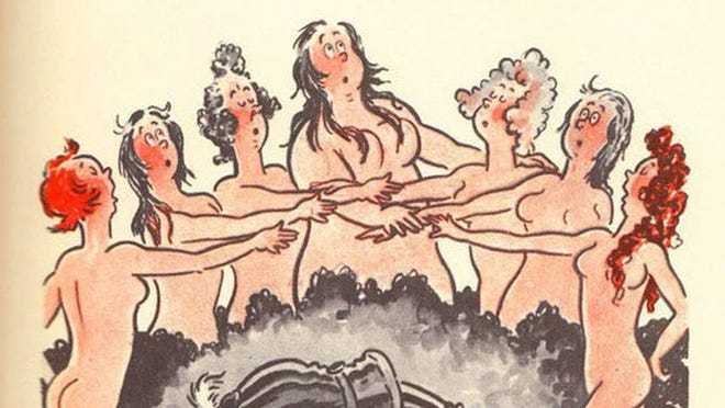 "Geisel's 1939 book for adults, ""The Seven Lady Godivas,"" was full of cartoon nudes. It didn't sell well."
