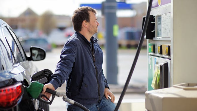 Retail pump prices for regular gas are tumbling as crude oil prices tumble. In some states in the heart of U.S. oil country, the price is already down to near $2 a gallon.
