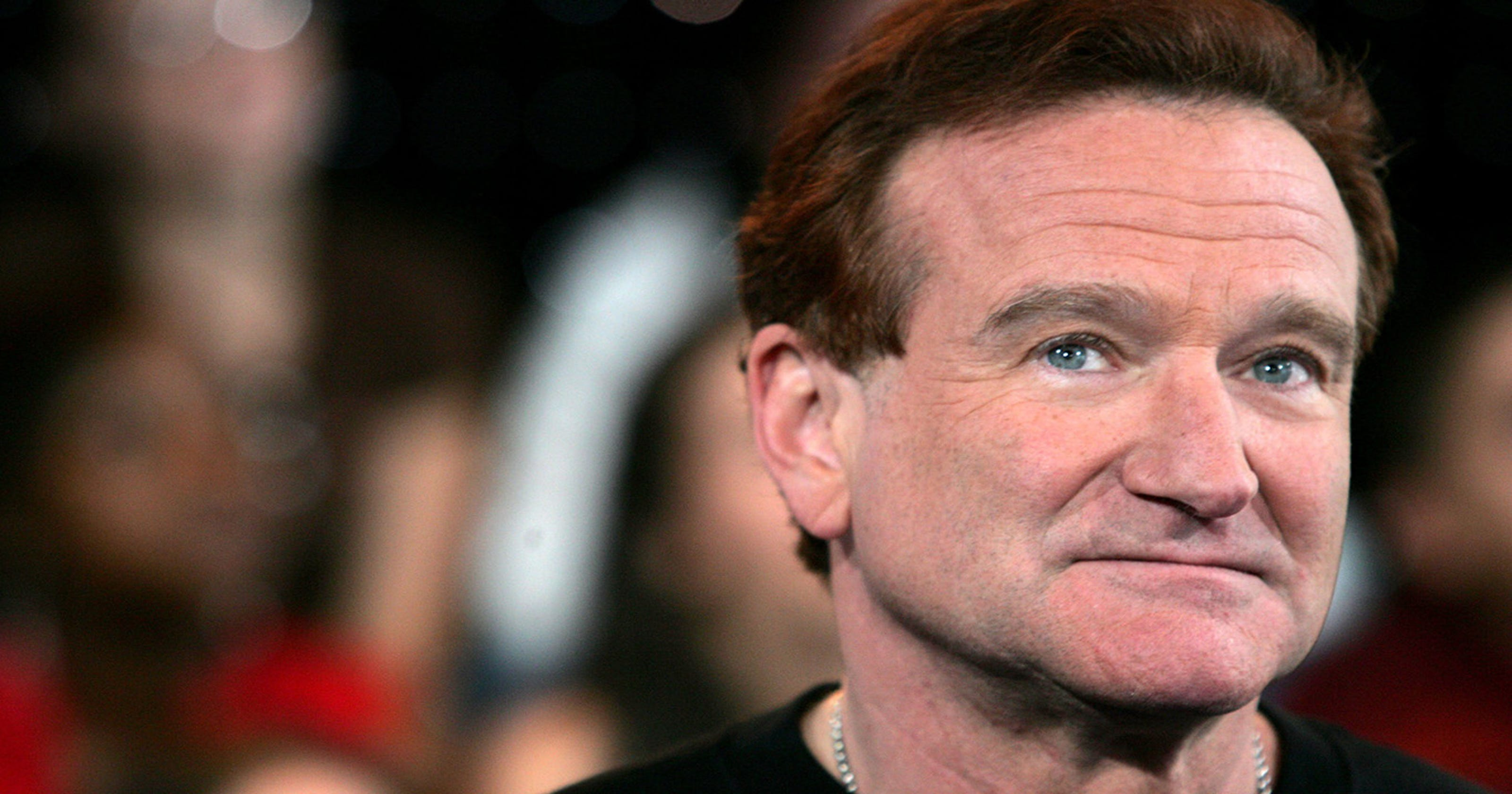 Robin Williams' son says he felt 'helplessness' over father's 'intense personal pain'