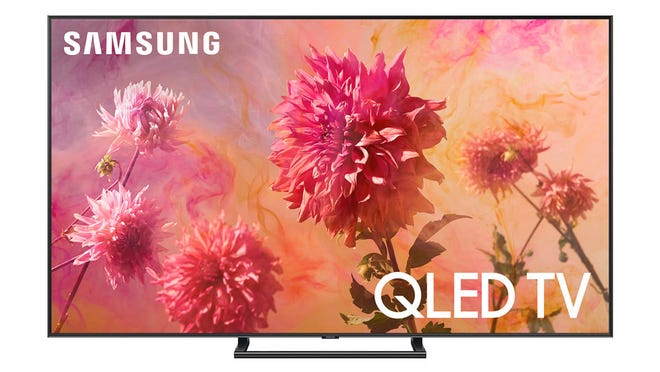 The Samsung 75-inch QLED 4K Smart TV supports 4K and HDR with its HDR EliteMax picture technology.
