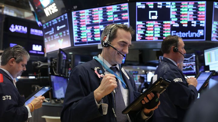 In October of last year, the Dow Jones Industrial Average peaked at 26,952, the highest point on record for the stock index. Though the DJIA comprises only 30 stocks, it is often regarded as a gauge of American business and economic prosperity. At the time of this writing, the Dow Jones sits at just over 26,000, over triple its value from a decade ago.   The DJIA is a price-weighted average of  30 large American companies . The index currently contains companies such as the world's largest retailer Walmart, media juggernaut Disney, global financial institution J.P. Morgan, aerospace and defense giant Boeing, and as of 2015, tech behemoth Apple.   The companies comprising the Dow change over time to reflect  the changing economy . Since the creator of the index, Charles Dow, was also the founding editor of The Wall Street Journal, editors at the publication select the companies that comprise the index.   Since its inception in 1896, when only 12 companies were included in the average, the Dow has changed only 50 times. The last remaining company from the original list of 12, General Electric, was finally removed in June 2018. It was replaced with drugstore chain Walgreens Boots Alliance.   To determine the value of the Dow Jones Industrial Average the year you were born, 24/7 Wall St. reviewed daily Dow figures aggregated by economic research website  Macrotrends.net . Historical Dow data are inflation-adjusted using annual headline CPI in chained 2018 dollars.