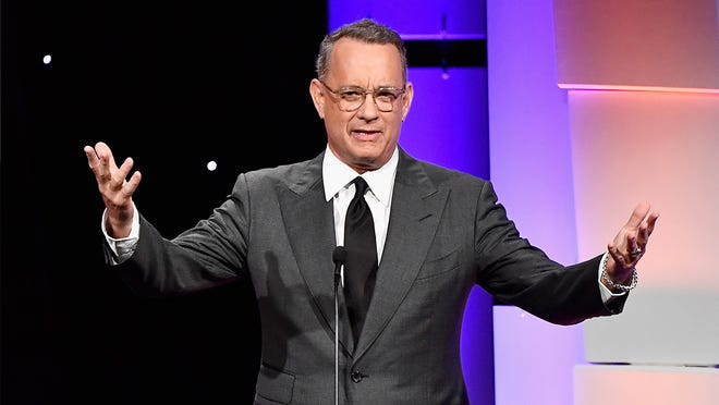 """Tom Hanks is in Albuquerque shooting a new sci-fi drama called """"Bios."""""""