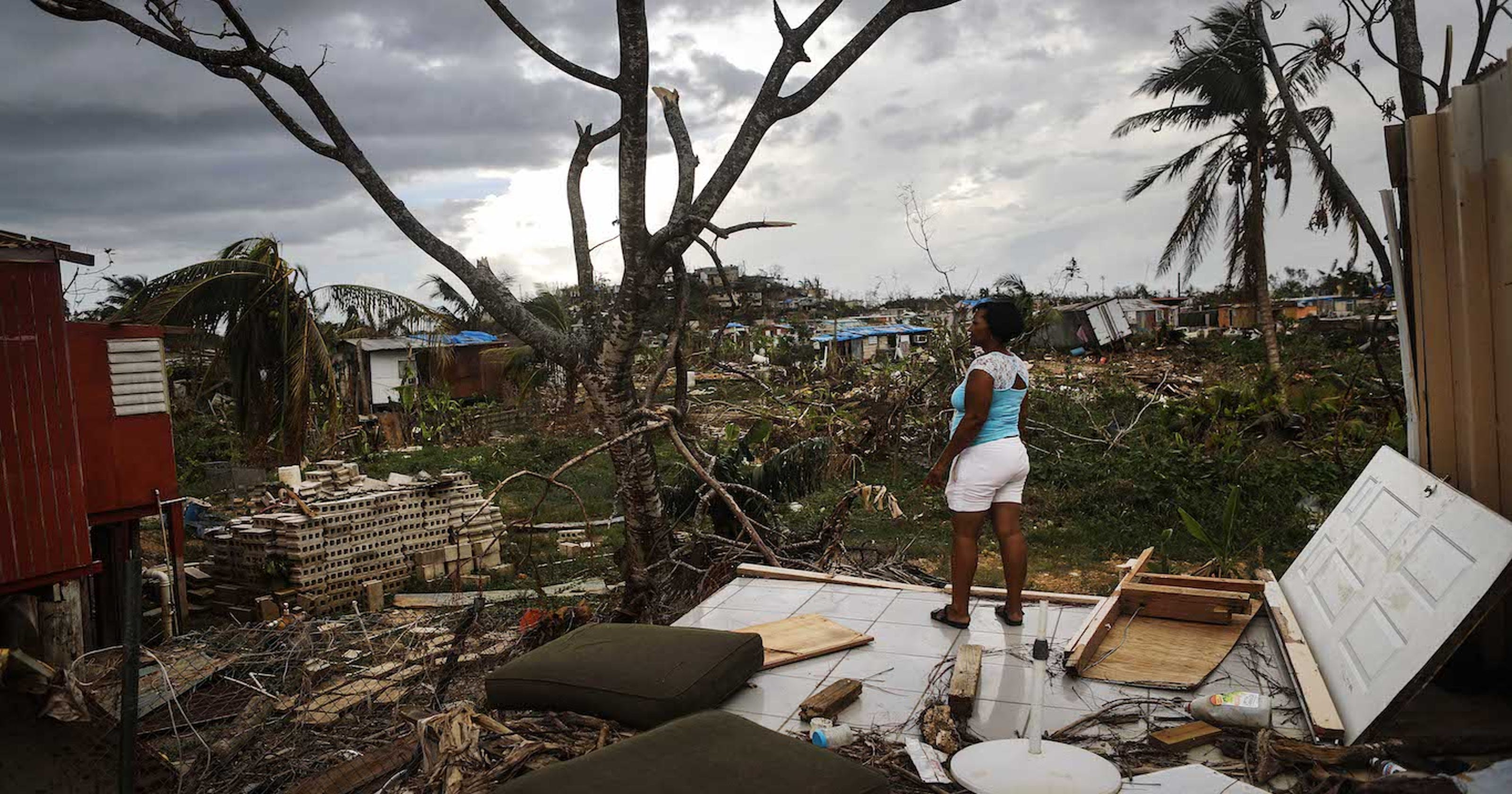 Puerto Rico hurricane recovery at a trickle as new crises emerge – and Trump fumes