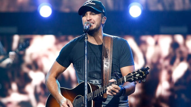 Luke Bryan will perform at Stafford Farms in Richland, Michigan on Sept. 27.