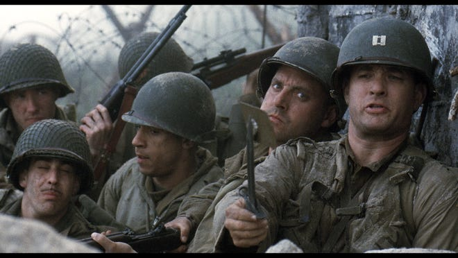 """Saving Private Ryan"", directed by Steven Spielberg, was released in 1998 and starred Tom Hanks, Matt Damon and Tom Sizemore."