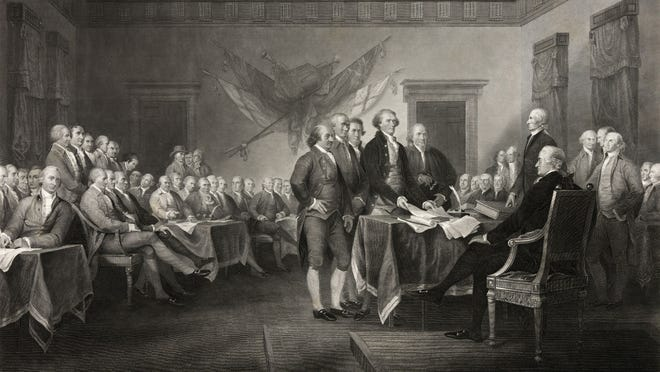 how many delegates signed the declaration of independence