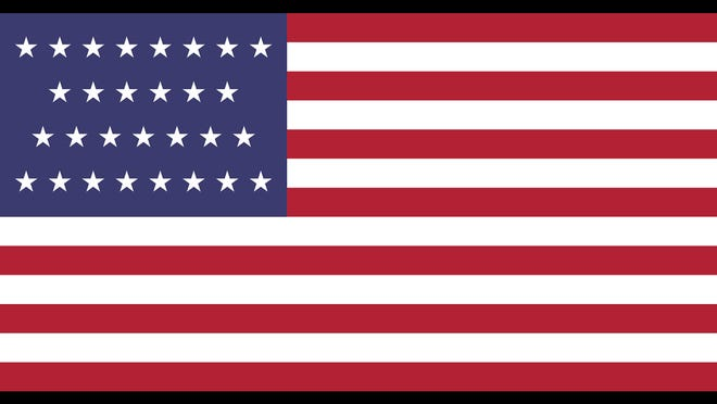 July 4th The Histories Of All 27 U S Flags For Independence Day