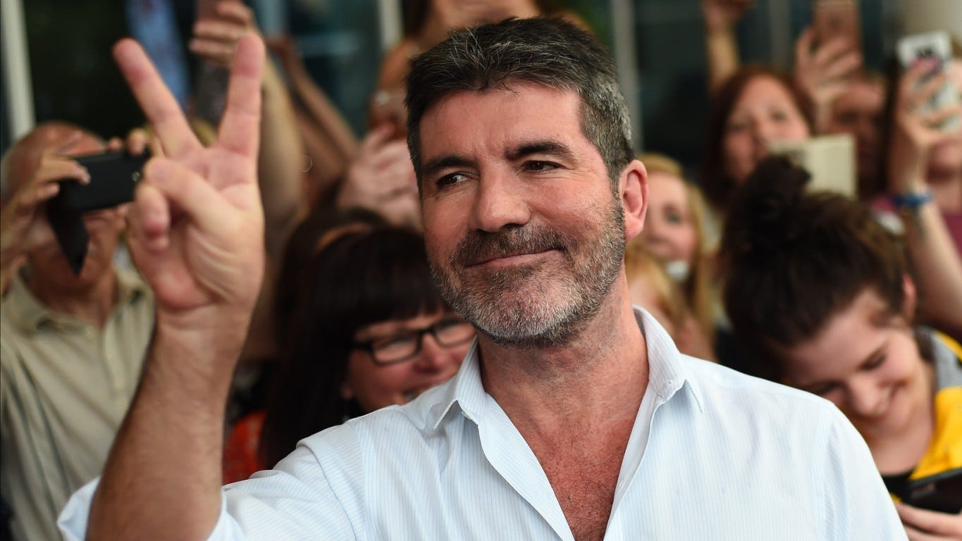 Simon Cowell Of Agt Breaks Back Falling Off Electric Bicycle
