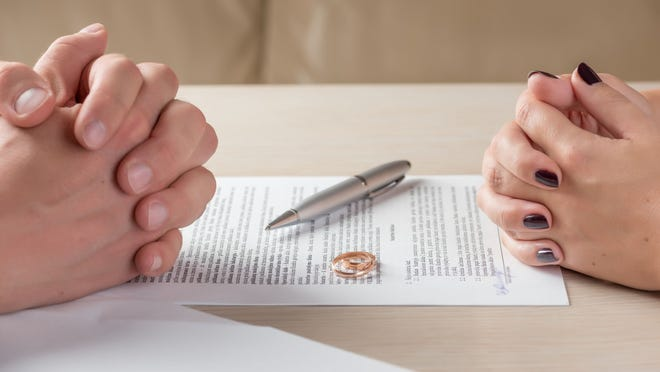 Many couples find it difficult to talk about certain financial topics, such as death and divorce.