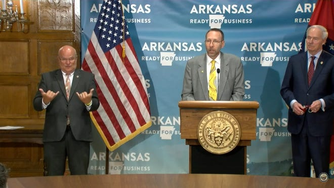 Health Secretary Nate Smith shared on Tuesday that Arkansas has seen another all-time high for new COVID-19 cases in the community
