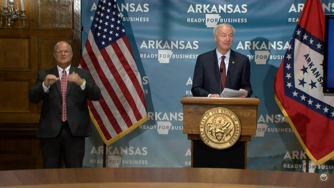 Gov. Asa Hutchinson announced on Tuesday that he is still not considering issuing a statewide mandate for masks.