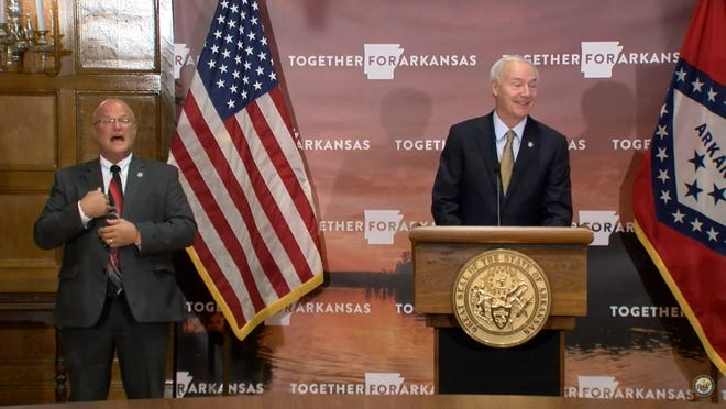 Gov. Asa Hutchinson announced on Wednesday that he was appointing Jose Romero as the new Arkansas Secretary of Health following his term as acting Health Secretary.
