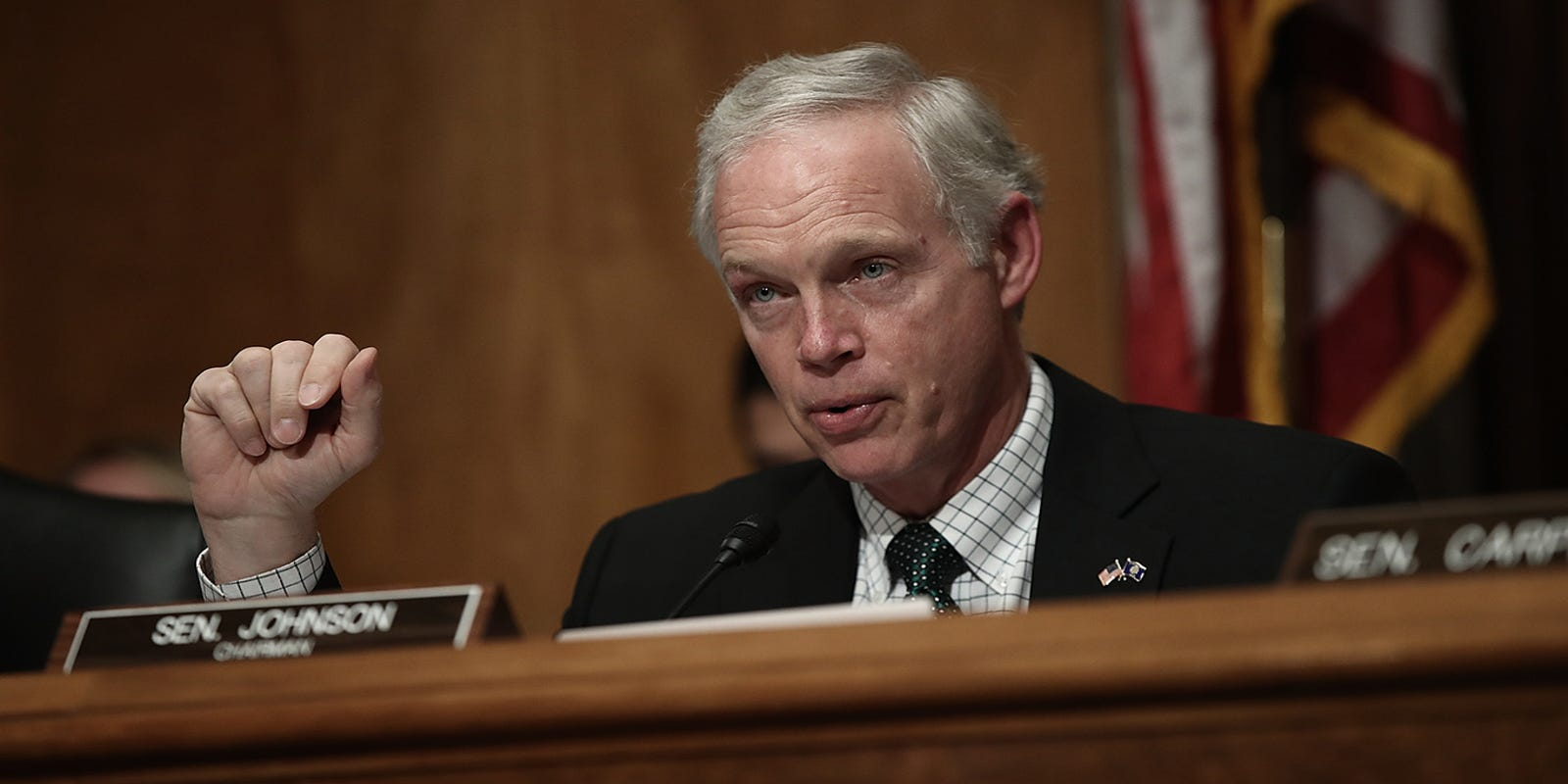 Sen. Ron Johnson becomes latest member of Congress to test positive for COVID-19