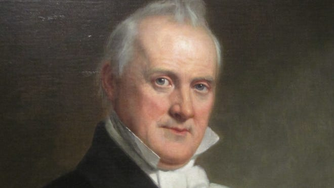 James Buchanan.