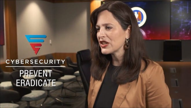 National Security Agency Cybersecurity Director Anne Neuberger explained how state-specific forums like Thursday's can help connect local governments and businesses with cybersecurity resources.